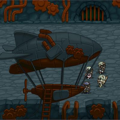 Dark Story game, castle defense+action, pixel art Steam City Craftzarium